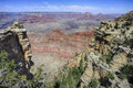 Grand canyon az barren land usa Royalty Free Stock Photography