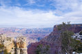Grand canyon beautiful landscape at november arizona usa Royalty Free Stock Image