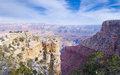 Grand canyon beautiful landscape at november arizona usa Stock Photo