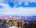 Grand canyon beautiful landscape at november arizona usa Royalty Free Stock Photography