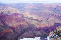 Grand canyon beautiful landscape at november arizona usa Royalty Free Stock Images