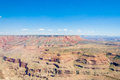 Grand Canyon and blue sky aerial photo, Arizona, USA Royalty Free Stock Photo