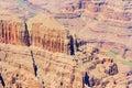Grand Canyon and Colorado river aerial photo, Arizona, USA Royalty Free Stock Photo