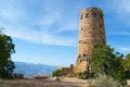 Grand Canyon Desert View Watchtower Royalty Free Stock Photo
