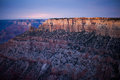 Grand Canyon at dusk Royalty Free Stock Photo