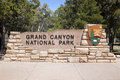 Grand Canyon Entrance Royalty Free Stock Photography