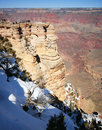 The Grand Canyon from Mather Point Royalty Free Stock Photo