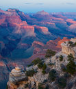 Grand Canyon NP at sunset Stock Photos