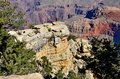 Grand canyon a spectacular view of the photo taken november Stock Photography