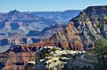 Grand canyon a spectacular view of the photo taken november Stock Photos