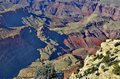 Grand canyon a spectacular view of the photo taken november Royalty Free Stock Photography