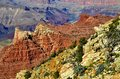 Grand canyon a spectacular view of the photo taken november Royalty Free Stock Images