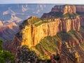 Grand canyon at sunset arizona view of national park north rim usa Royalty Free Stock Photos