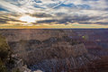 Grand canyon at sunset national park Royalty Free Stock Photos