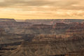 Grand canyon at sunset national park Royalty Free Stock Image