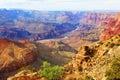 Grand Canyon. USA, Arizona. Panoramic Great View Royalty Free Stock Photo