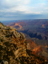 Grand Canyon vista Royalty Free Stock Photo
