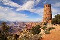 Grand Canyon Watchtower Royalty Free Stock Photo