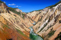 Grand Canyon of the Yellowstone River Royalty Free Stock Image