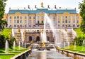 Grand Cascade Of Peterhof Pala...