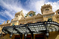The Grand Casino Monte Carlo - The entrance Royalty Free Stock Image