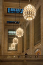 Grand central station chandelier Royalty Free Stock Photo