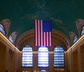 Grand central station detail of the interior of the terminal in nyc Royalty Free Stock Photography