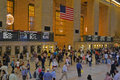 Grand Central Station Interior in New York City Royalty Free Stock Photography