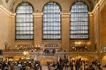 Grand central station in new york usa september commuters and tourists at terminal railway on september manhattan city Stock Images
