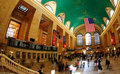 The grand central station in NYC Royalty Free Stock Photo