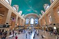 Grand central station pedestrian traffic at as the celebrates its th anniversary Stock Photo