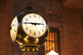Grand Central Terminal clock close up Royalty Free Stock Photo