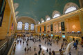 Grand central terminal new york city interior of main concourse in manhattan usa Royalty Free Stock Photography