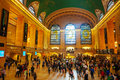 Grand central terminal in new york city may with people on may city it s the largest train station the world by number Royalty Free Stock Images