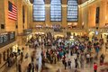 Grand central terminal new york june people hurry in on june in new york the station exists since it had passenger ridership of Stock Photo