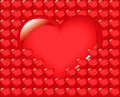 Grand coeur, amour Image stock