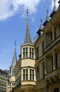 Grand Ducal Palace in Luxembourg Stock Photo