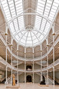 Grand gallery national museum of scotland interior hall edinburgh http www edinburghspotlight com news reopens Stock Photos