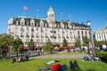 Grand Hotel in Oslo Norway Stock Photography