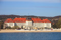 Grand Hotel in Sopot Royalty Free Stock Photography