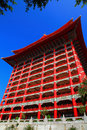 The grand hotel in taipei taiwan Royalty Free Stock Image