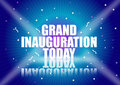 Grand inauguration Stock Photos