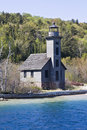 Grand Island Lighthouse Royalty Free Stock Photo