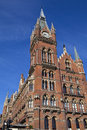 Grand Midland Hotel & Kings Cross Station Royalty Free Stock Photography