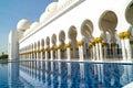 Grand Mosque Abu Dhabi Royalty Free Stock Photo