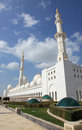 Grand Mosque in Abu Dhabi UAE Royalty Free Stock Image