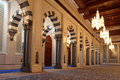 Grand Mosque in Muscat, Oman Royalty Free Stock Photo