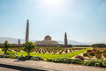 Grand Mosque, Muscat, Oman Royalty Free Stock Photo