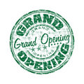 Grand opening rubber stamp Royalty Free Stock Photography