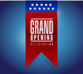 Grand Opening Stamp Sign Banne...